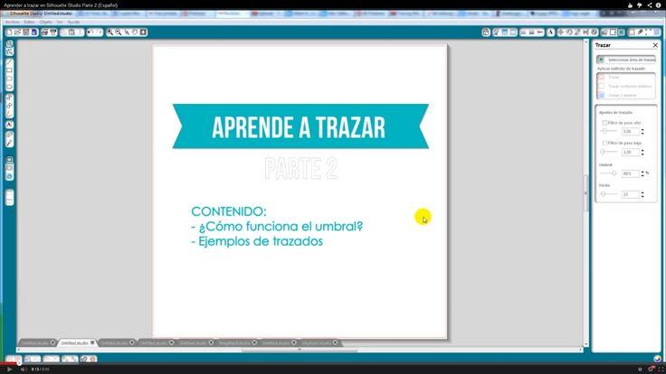 Aprender a trazar en Silhouette Studio Parte 2 (Español)