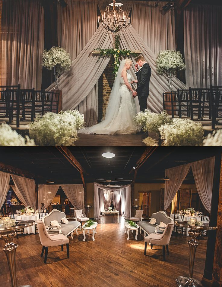 Planner: Angela Proffitt Venue: Houston Station, Nashville Photographer: Joe Hendricks Photography