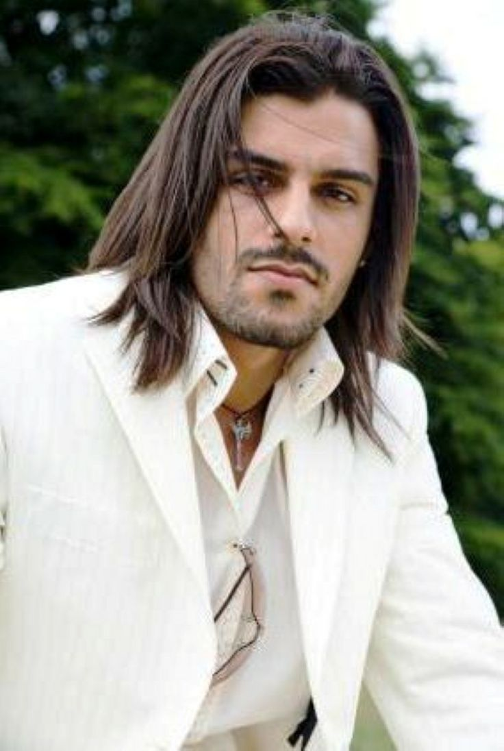 awesome long hairstyles for the older man images - styles and