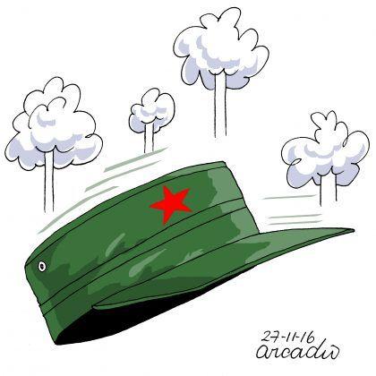 Quién tomará la gorra de Fidel?