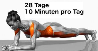 Wir haben für dich ein paar simple Übungen, die deinen Körper schon bei einem…