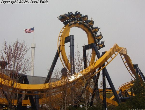 Batman The Ride Photo From Six Flags Great America Great America Roller Coaster Six Flags