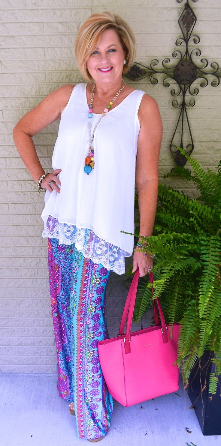 Styling Palazzo Pants  Putting Outfits Together  Fashion -4134