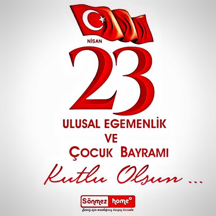 Ulu Önder Atatürk'ün armağanı 23 Nisan Ulusal Egemenlik ve Çocuk Bayramı'mız kutlu olsun! 😄 #23Nisan #23nisanulusalegemenlikveçocukbayramı