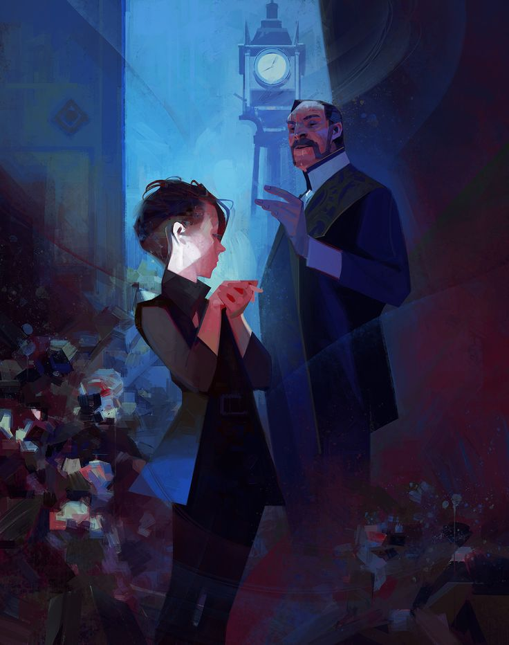 Dishonored2 paintings on Behance