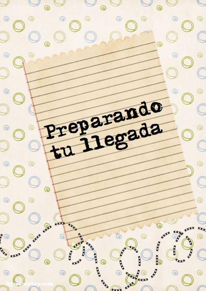 Preparativos para la llegada agenda embarazo pinterest for Preparativos para baby shower