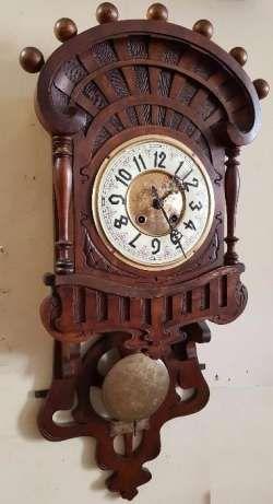 Zegar secesyjny- ślązak Gustaw Becker Grudziądz - image 1