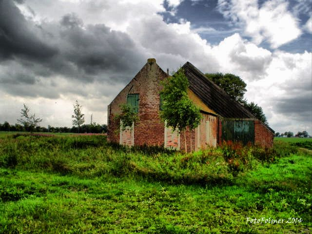 Oude boerderij te Kalkwijk