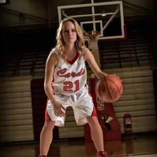 basketball senior pic!