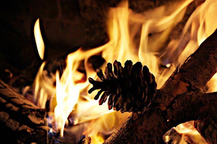 Aprende a crear tus propios iniciadores de fuego #chimeneas #hornos #hogar