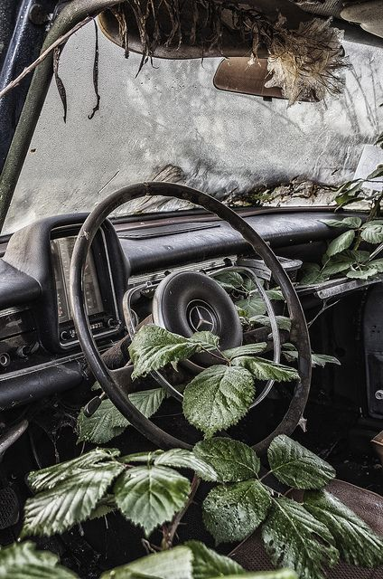 Abandoned car. by Dacool-DK Urbex Photography on Flickr.