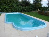 GFK-Schwimmbecken zur Selbstmontage