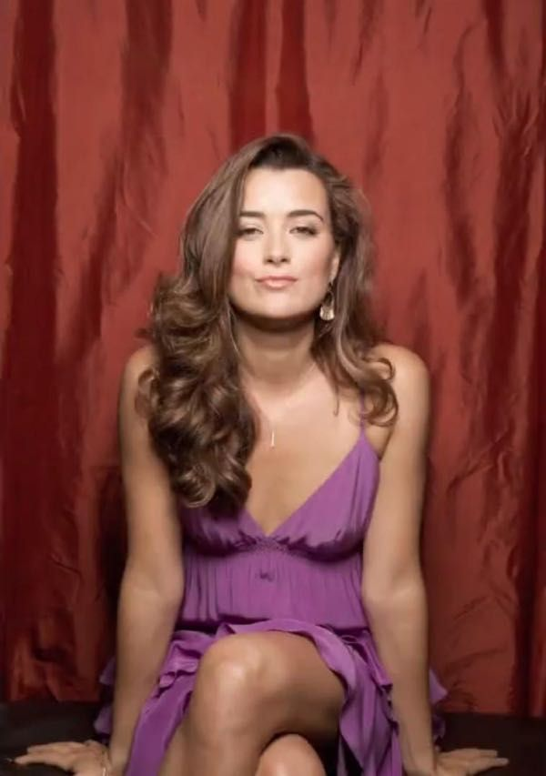 Cote De Pablo in a Purple Empi... is listed (or ranked) 2 on the list The 23 Hottest Cote De Pablo Photos