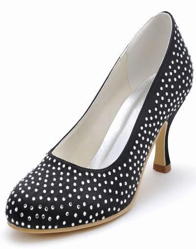 Multicolor eleganta exklusiva anpassade skor aftonskor glänsande satin brud skor s