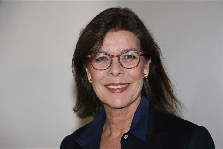 Princess Caroline of Hanover visited the 'Construire une collection' or 'Building a Collection' exhibition on January 20, 2015.