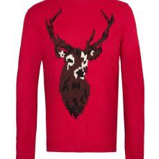 TOPMAN RED JUMPER, menswear, style , fashion, xmas, love red, blog