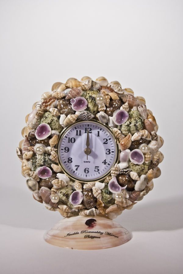 17 best images about shellrelated01 on pinterest for Seashell clock