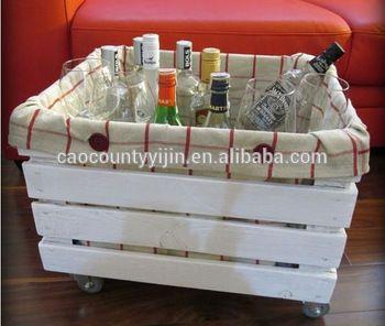 shabby chic bianco cassa di legno di stoccaggio a quattro ruote - ID del prodotto : 60007693340 - m.italian.alibaba.com