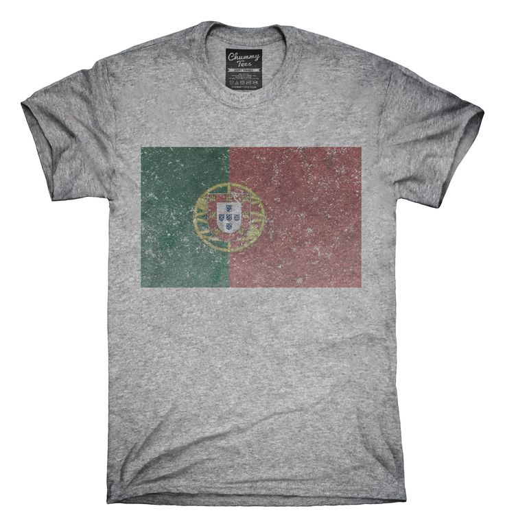 Retro Vintage Portugal Flag T-Shirts, Hoodies, Tank Tops