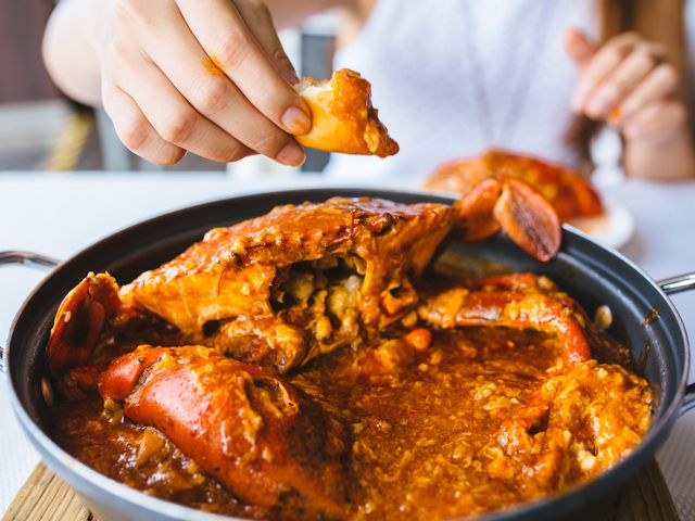 Chilli Crab | Chilli Crab Recipe Singapore Style