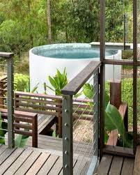 Image result for concrete water tank plunge pool