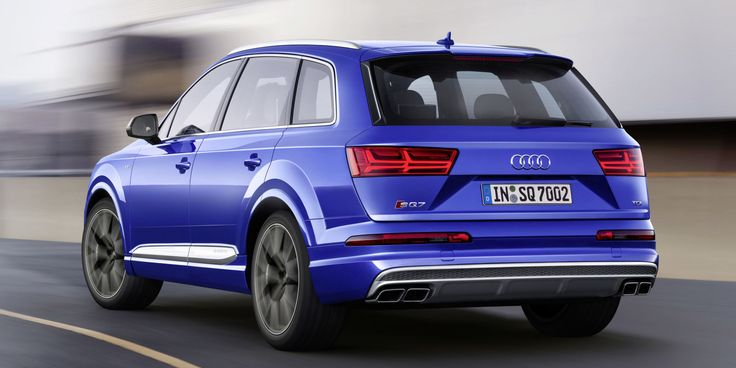 Audi's New SQ7 TDI Has an Electric Compressor to Eliminate Turbo Lag