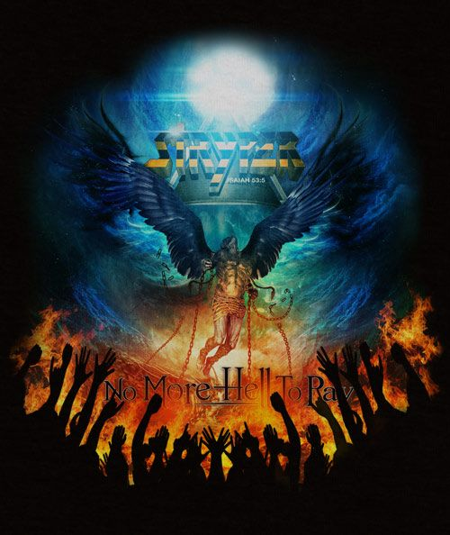 Stryper - The No More Hell To Pay T Shirt : Stryper Apparel : Store(great art-fabya)