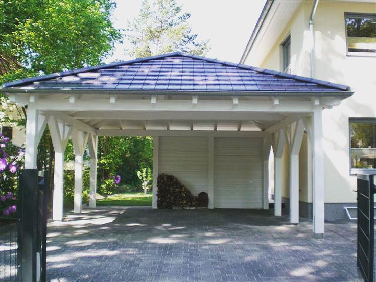 ein walmdach carport bietet mehr sicherheit bei ung nstigen wetterbedingungen carport. Black Bedroom Furniture Sets. Home Design Ideas