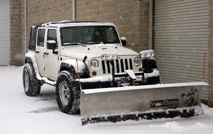snow cleaner hoho jeep pinterest snow plow and jeeps. Black Bedroom Furniture Sets. Home Design Ideas