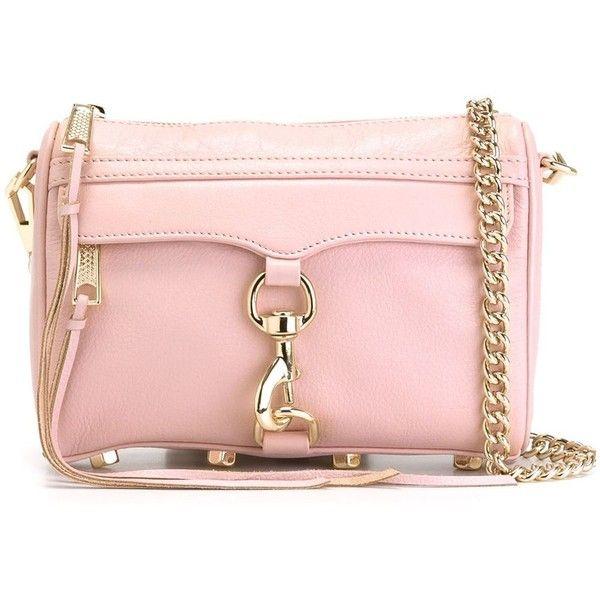 Rebecca Minkoff Mini M.A.C Crossbody Bag (3,745 MXN) ❤ liked on Polyvore featuring bags, handbags, shoulder bags, mini handbags, pink purse, rebecca minkoff crossbody, rebecca minkoff handbags and rebecca minkoff purse