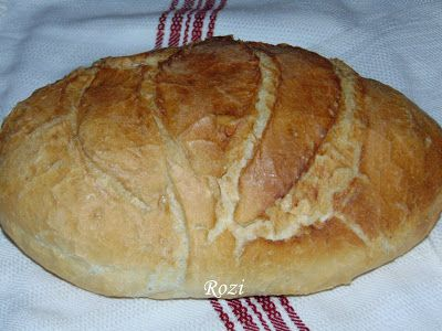 Rozi erdélyi,székely konyhája: Kovászolt kenyér, sütőben sütve