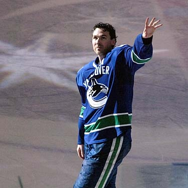 Last game for the Canucks