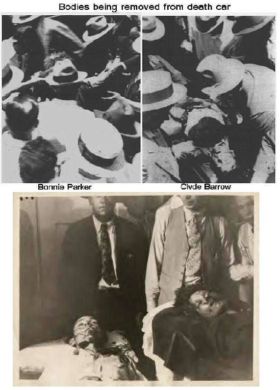 best bonnie and clyde images bonnie clyde bonnie clyde a couple of aftermath pics