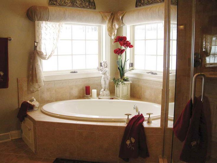 Photo Gallery For Website Bathroom Window Decorating Ideas With Classical Sculpture decorteen