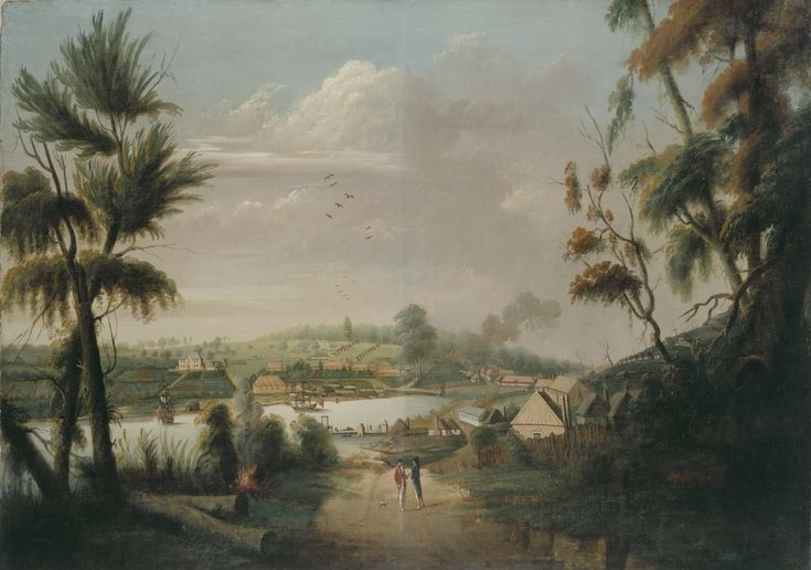 Sydney Cove in 1794