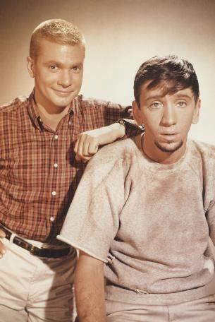 The Many Loves of Dobie Gills (1959 - 1963, CBS) starring Dwayne Hickman as Dobie & Bob Denver as Maynard G. Krebs
