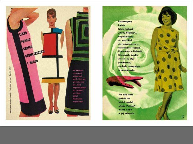 Wyszperaj sukienkę w wielbłądy - premiera książki o modzie PRL-u [ROZMOWA]