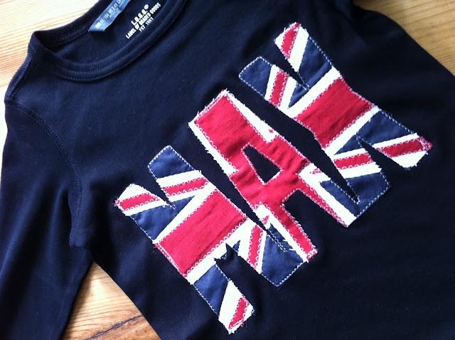 Personalized Union Jack T-Shirt Tutorial