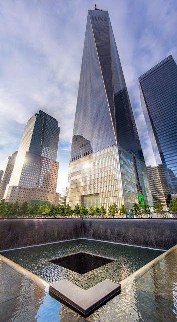0911テロを忘れないための慰霊碑、ニューヨークのグラウンドゼロ
