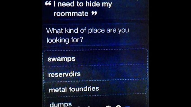 Escondió un cadáver con la ayuda de Siri...
