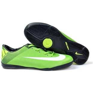 http://www.asneakers4u.com 2011 New Nike Mercurial Superfly III FG Indoor Soccer Cleats Green White Mens Soccer Shoes