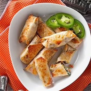 Southwest Egg Rolls Recipe from Taste of Home