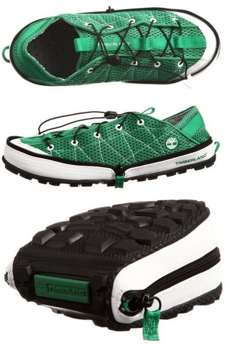 Tendance Chaussures  Pliable Camping Shoes  AllDayChic  Tendance & idée Chaussures Femme 2016/2017 Description Timberland Radler Trail Camp shoes: Pliable water-repellant camping shoes that can be zipped up and easily stored when #backpacking.