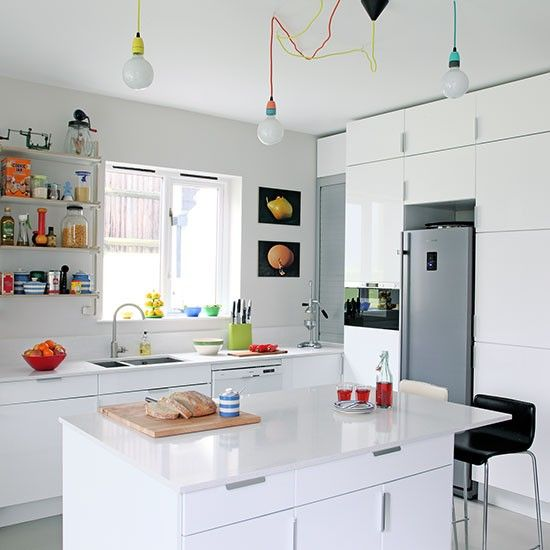 Contemporary kitchen | 1930s semi | House tour | PHOTO GALLERY | Ideal Home | Housetohome.co.uk