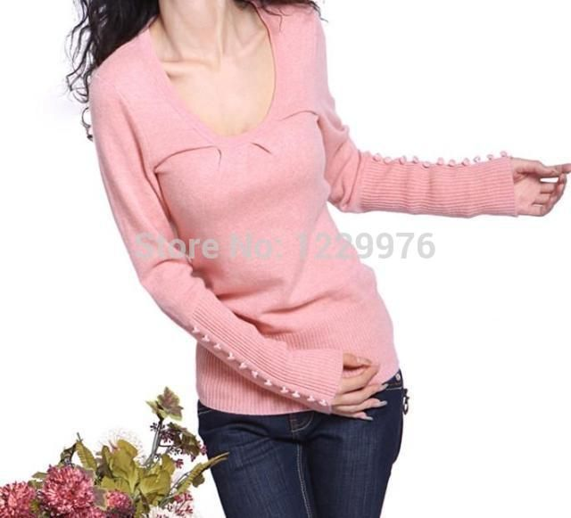 Новый 2015 кашемир полушерстянная свитер женщин о-образным шеи пуловеры свитера женский вязаный свитер с длинным рукавом шерстяной пуловер женщины
