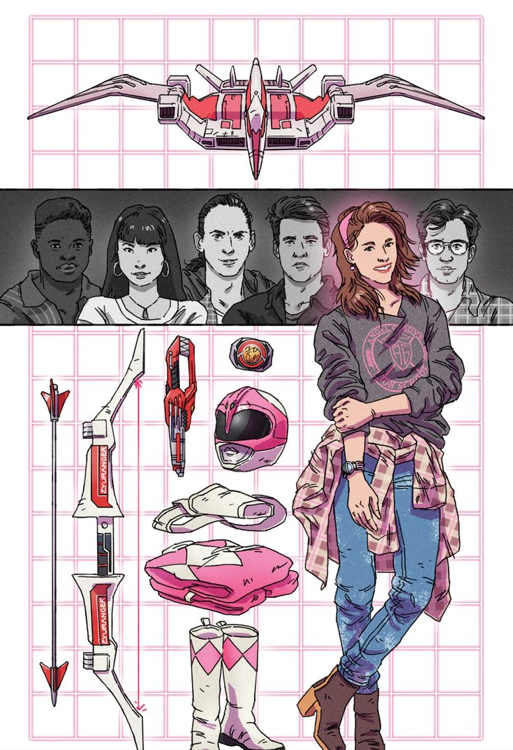 Kimberly Hart - Mighty Morphin Power Rangers