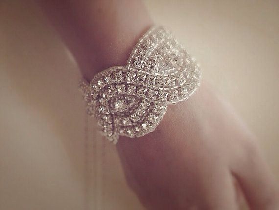and this! its my wedding day, perfect day to get blinged out!