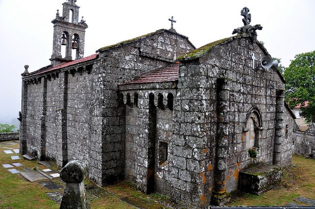 Iglesia Sta María de Sacos - Cotobade (Pontevedra)