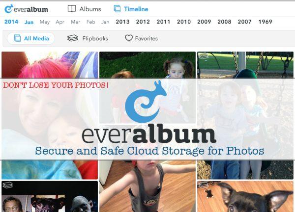 FREE Online Photo Storage with Everalbum