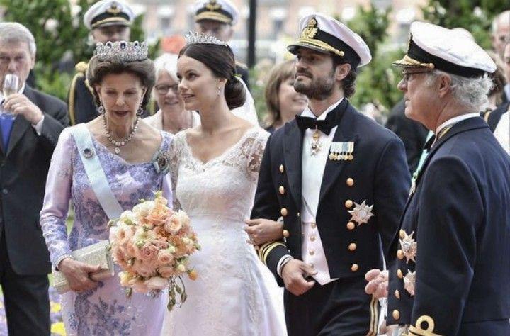 Sofia Carl Philip Queen Sylvia And King Carl Gustav 13 June 2015 Prinzessin Sofia Prinzessin Gast